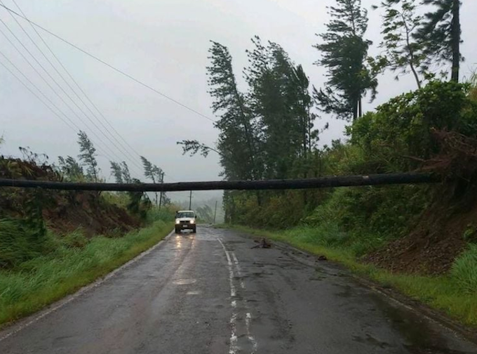 Cyclone Yasa Strikes Fiji